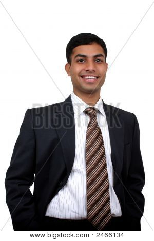 Indian Business Man Smiling.
