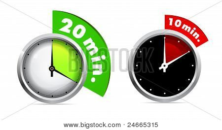 10 and 20 minutes timer