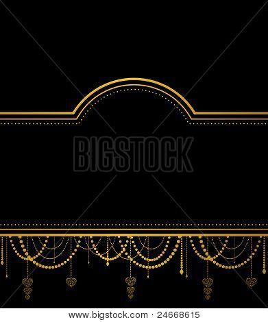 Fundo de tapeçaria retrô com ornamento bonito