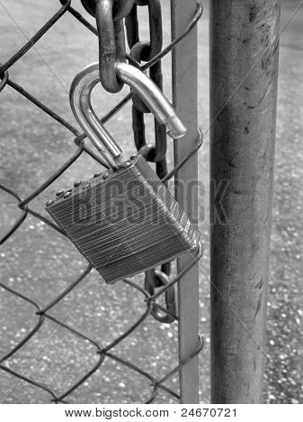 Lock On Gate
