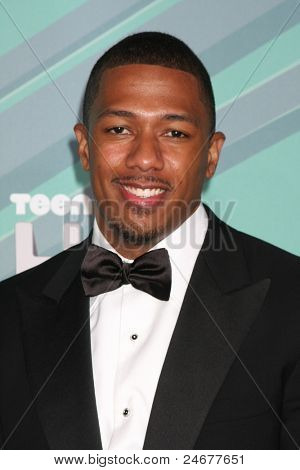 LOS ANGELES - OCT 26: Nick Cannon arriving at the 2011 Nickelodeon TeenNick HALO Awards at Hollywood Palladium on October 26, 2011 in Los Angeles, CA