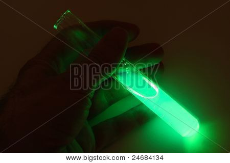 Chemiluminescence in Test Tube