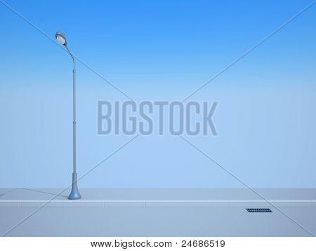 Straße Laterne