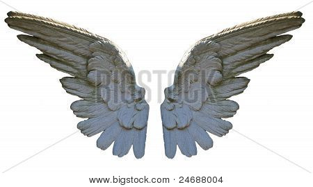 Stone Angel Wings