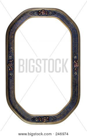 Antique Oval Frame