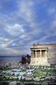 Athens, Greece - Caryatids Of The Erechteum poster