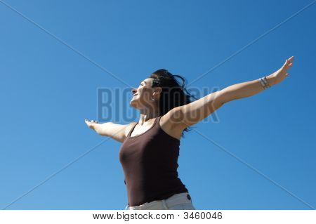 Photo Of Woman Relaxing