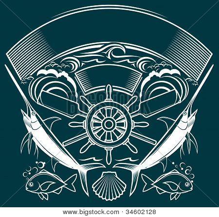 Shipwheel Crest