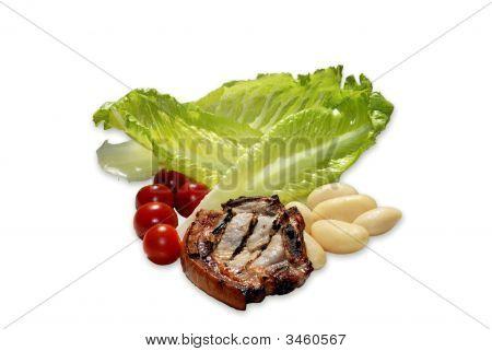 Pork Chop Salad