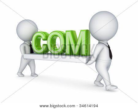 Domain name concept.
