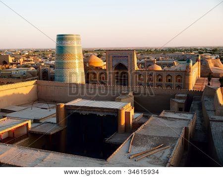 Khiva At Sunset