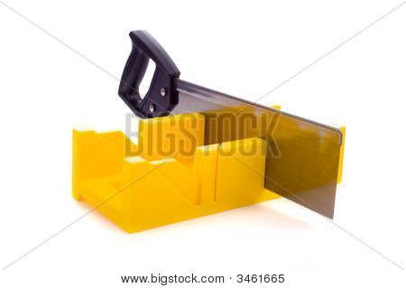 Miter Box With Saw