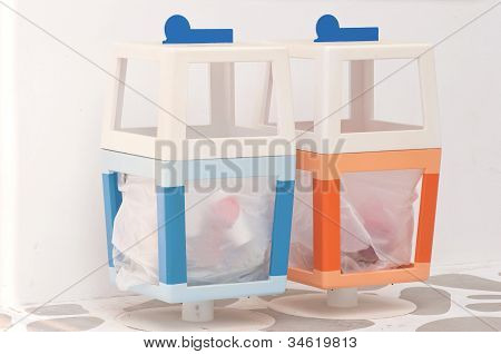 Colorful Dustbin