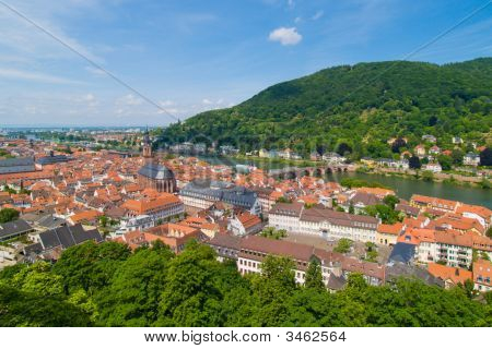 Historical Center Of Heidelberg