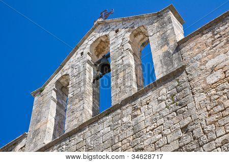 St. Vito church. Martina Franca. Puglia. Italy.