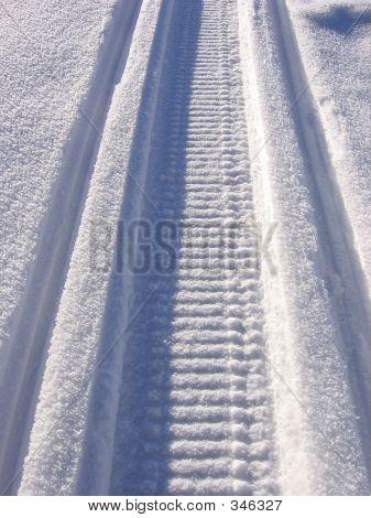 Scooter Snow Mark Arctic Way