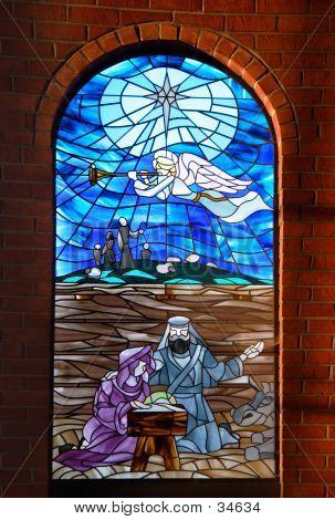 Ángel anuncia el nacimiento de Jesucristo