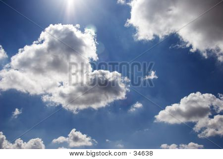 Fluffy Cloud Formations