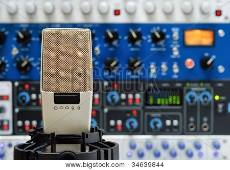 Studio Microphone And Audio Devices