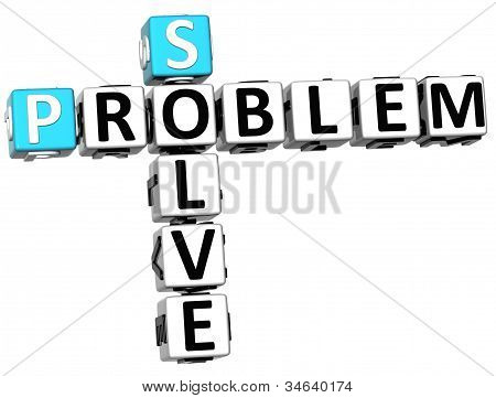 3D Solve Problem Crossword