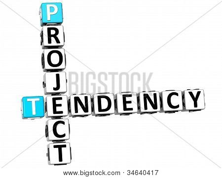 3D Project Tendency Crossword
