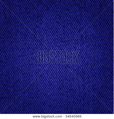 Dark Blue Jeans Texture Background