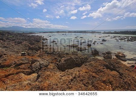 Pupukea Tide Pools On The North Shore Of Oahu, Hawaii