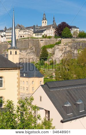 View On Luxembourg From Grund