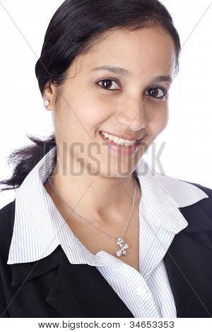 Closeup Of Indian Business Woman