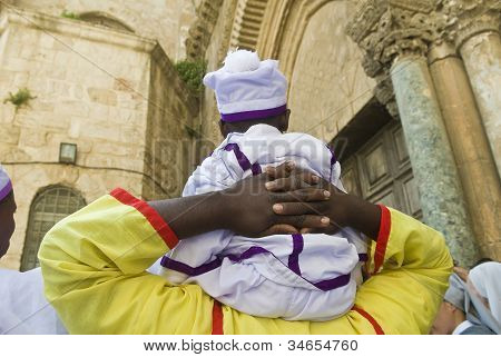 nigerianischer Pilger
