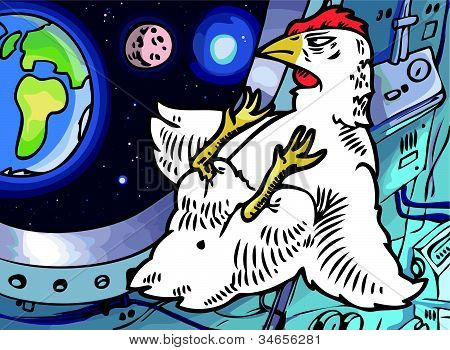 Space-chicken