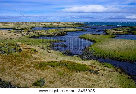Icelandic Coastline in May