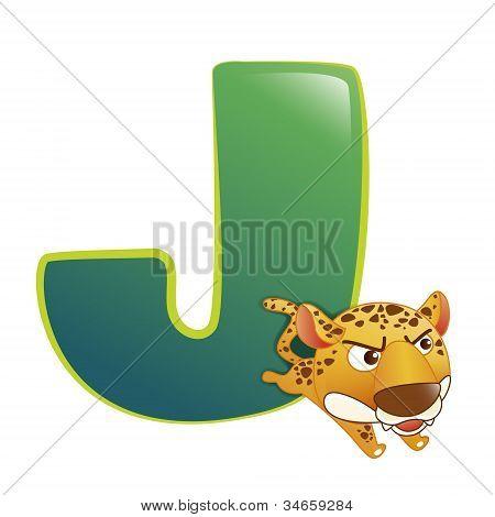 Alfabeto animal J