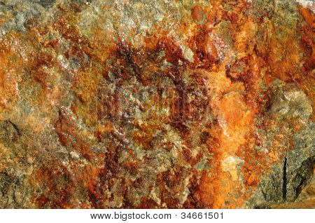 Rust and Orange