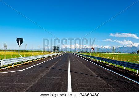 moderne Autobahn