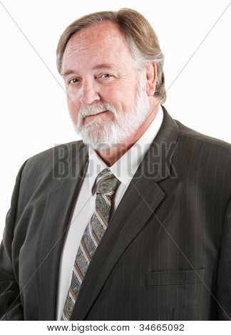 Middle Aged Smiling Man