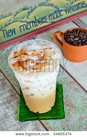 Delicious Ice Kaffee Latte
