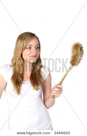 Domestic Diva With Cleaning Tool