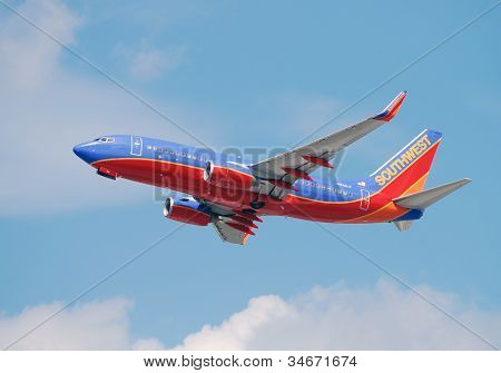 Southwest Airlines Boeing 737 Jet