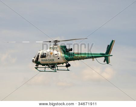 Miami Dade Police Department Helicopter