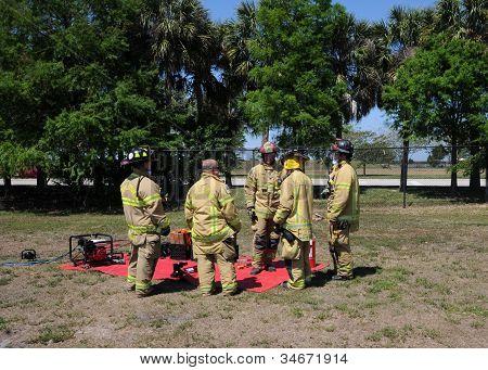 Firemen In Training