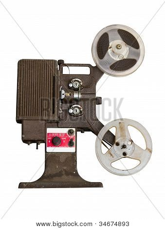 Analogue  Movie Projector With Reels