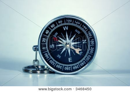 Black Compass Isolated