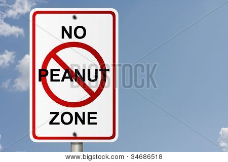 No Peanut Zone