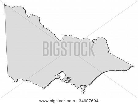 Map Of Victoria (australia)