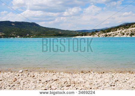 The Lake At Gorge Du Verdon