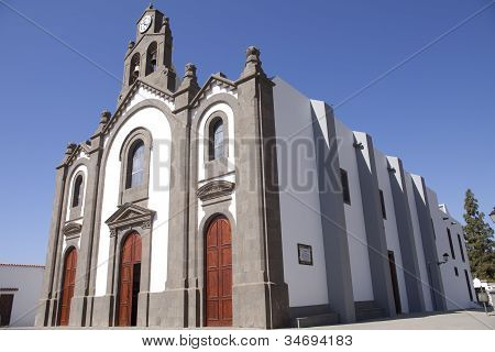 Church On Gran Canaria
