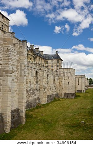 Vincennes Castle defensive wall