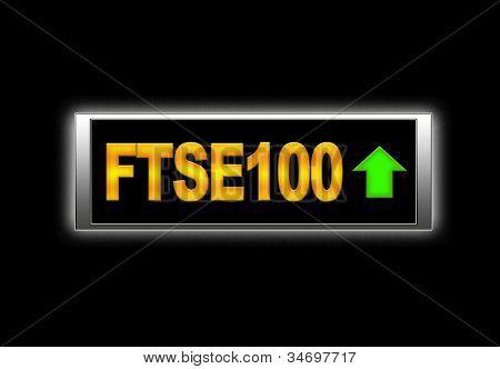 Ftse100 Positive.