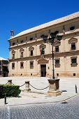 View Of Chains Palace Used As The Town Hall, Ubeda, Jaen Province, Spain. poster
